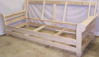 how to make a wooden sofa frame diy sofa made out of 2x10s