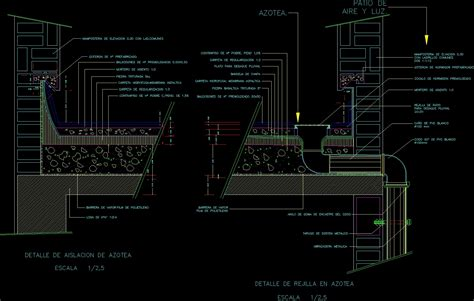 terrasse detail detail terrace with insulation dwg section for autocad