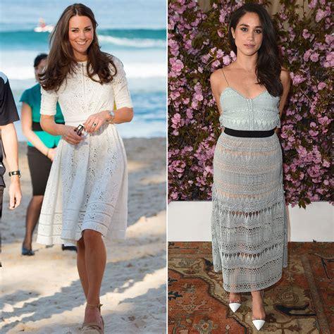 Vs Katee by Meghan Markle Versus Kate Middleton Style