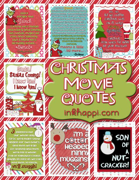phrases from the calendar on tv movie christmas calendar quotes free printables inkhappi