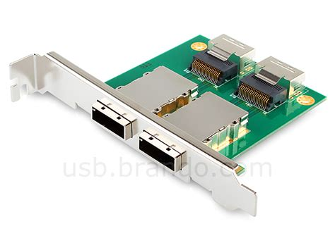 Converter Sas To Usb 2p pci sas adapter sff 8087 to exter 8088