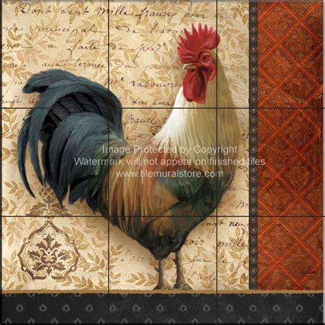 rooster tiles kitchen backsplash tiles a french
