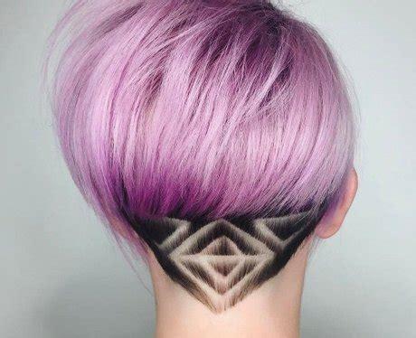 diamond hair tattoo the two tone undercut 17 badass hidden hair tattoos that