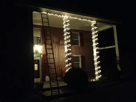 how to fix christmas lights to house christmas lights