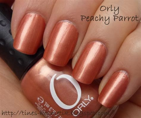Orly Peachy Parrot orly peachy parrot nail colors