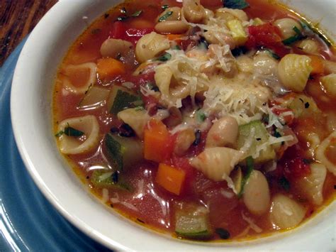 Soups On Minestrone Soup by Minestrone Soup Free Recipe Network