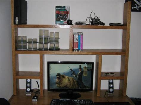 Oak Computer Desk Shelves By Shopmania Lumberjocks Com Computer Desk With Shelves Above