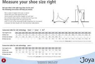 Find the right shoe size quickly and simply
