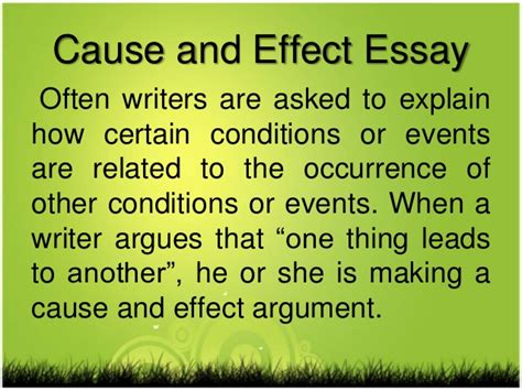 Cause And Effect Essay On Global Warming by Paragraph And Essays