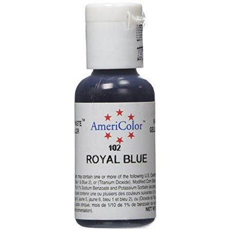 food coloring walmart americolor soft gel paste food color royal blue walmart