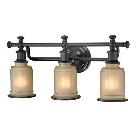 bathroom vanity light fixtures oil rubbed bronze shop westmore lighting nicolette 3 light 10 in oil rubbed