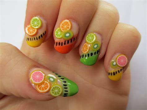 Nails Kuku Palsu Wedding Blink 3d Pink 6 28 Stylish Fruit Nail Designs Ideas 2018 Uk Beep