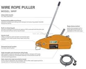 1600kg wire rope puller wire cable puller wire rope pulling hoist buy wire rope puller puller