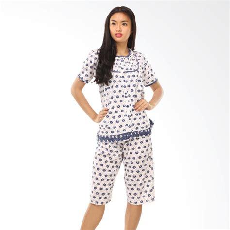 Fashion Wanita Setelan Murah Flower jual graziee bj009 flower motif setelan baju tidur wanita harga kualitas terjamin
