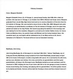 9 obituary examples download in word pdf psd free