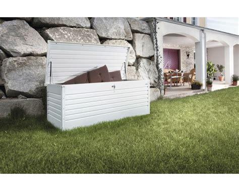 coffre de jardin biohort 180 181x79x71 cm blanc acheter