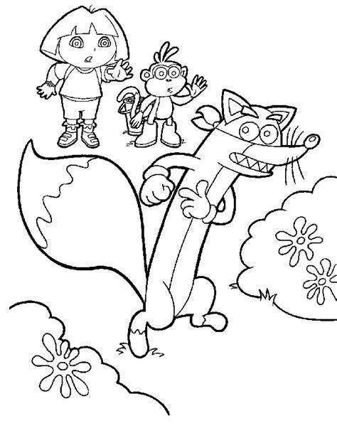 simple dora coloring pages dora coloring pages coloringpagesabc com