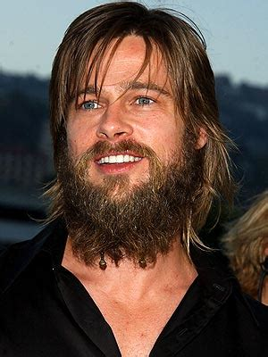 brad pitt – hair loss is not a problem, or is it?
