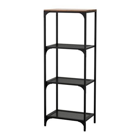 regal metall schwarz fj 196 llbo regal ikea