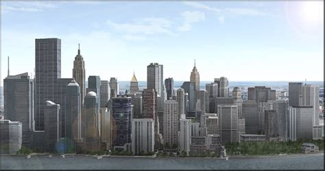 wallpaper google sketchup metropolis a google sketchup city skyscraperpage forum