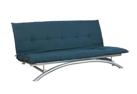 contemporary silver metal futon frame full size