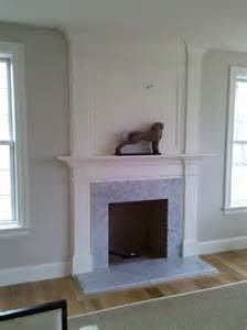 Ideas For Chair Rails - fireplace mantle custom home finish