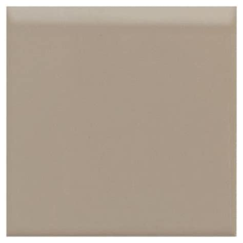 daltile semi gloss uptown taupe 4 1 4 in x 4 1 4 in ceramic bullnose wall tile 0132s44491p1