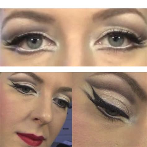 dance tutorial f x electric shock ballet stage makeup ballet pinterest makeup and ballet