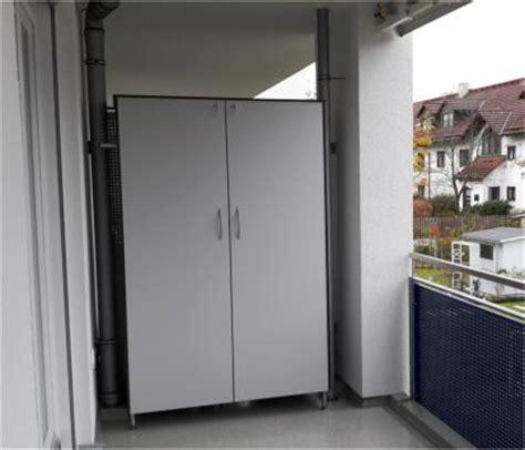 wetterfester schrank balkon wetterfester schrank f 252 r balkon hausidee