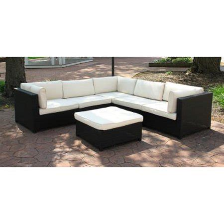 white wicker sectional outdoor furniture black resin wicker outdoor furniture sectional sofa set