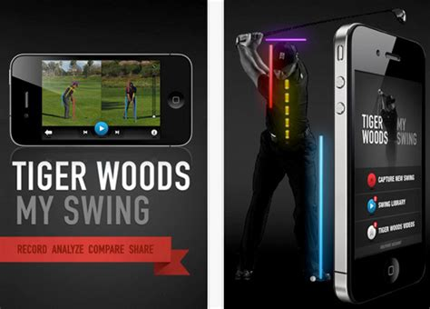 tiger woods my swing app new golf apps releases in 2012 for iphone ipad and