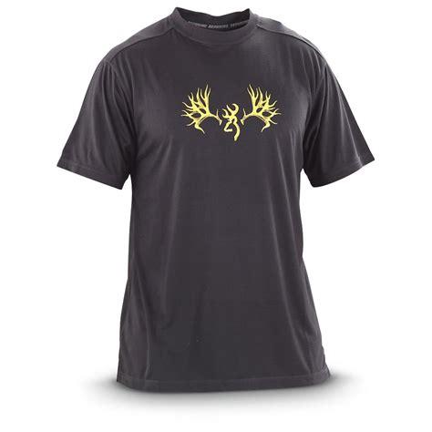 Browning Black Shirt browning performance t shirt 582058 t shirts at
