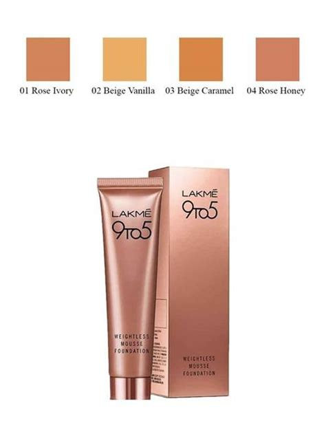 lakme 9 to 5 weightless mousse foundation review 8 amazing new beauty products to try in month of may