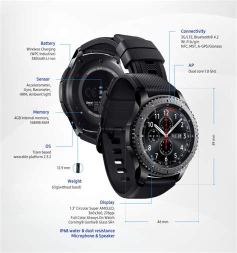 Smartwatch Samsung S3 samsung expands smartwatch portfolio with gear s3