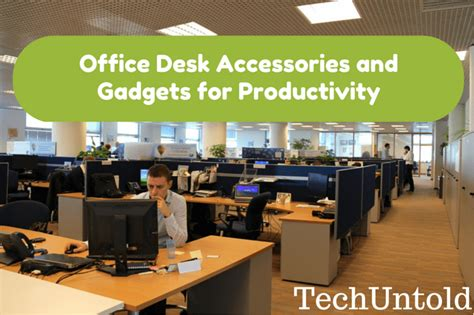 must desk accessories office desk accessories and gadgets for productivity