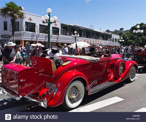 deco car parade 2016 dh marine parade new zealand deco festival weekend stock photo royalty free