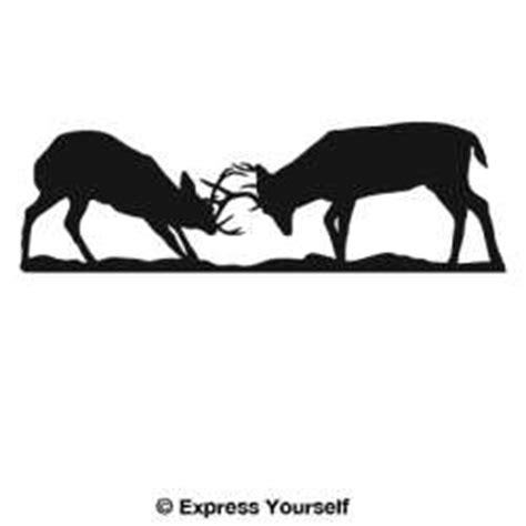 Battling Big Bucks by Animals Auto And Wall Decals
