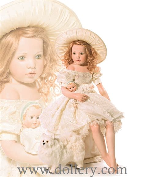 porcelain doll hair hildegard gunzel collectible dolls