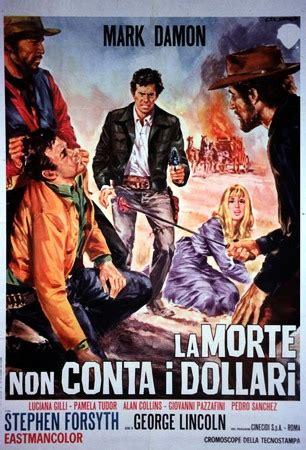 morte  conta  dollari la  spaghetti western