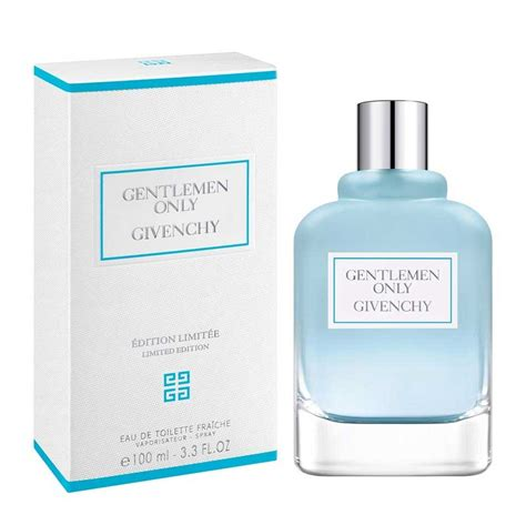 Givenchy Gentleman Only Limited Edition Edt Fraiche 100ml Parfum Pria gentlemen only fra 238 che givenchy cologne a new fragrance for 2017