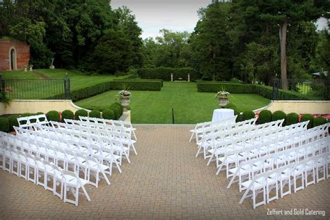 outdoor wedding ceremony setup sydney evergreen museum library wedding venue in baltimore partyspace