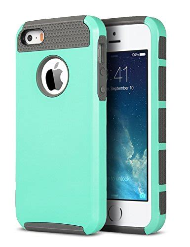 5 iphone cases iphone 5s iphone 5 iphone se ulak slim fit dual layer protection shock