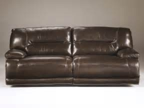Leather Reclining Sofa Furnitureexhilaration Chocolate 2 Seat Reclining Sofa