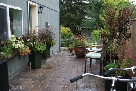 Patio Arrangements Plant Arrangements Eclectic Patio Portland By
