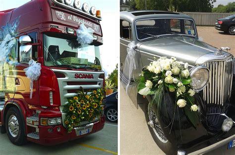 Vicenza 3 Liter fiori per macchina matrimonio vicenza 3 carollo fiori