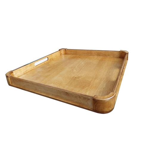 large wooden tray for ottoman best 25 large ottoman tray ideas on wooden
