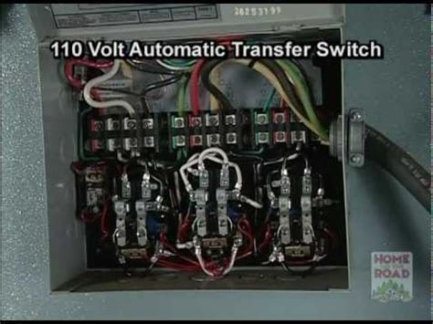 rv maintenance  volt ac automatic transfer switch