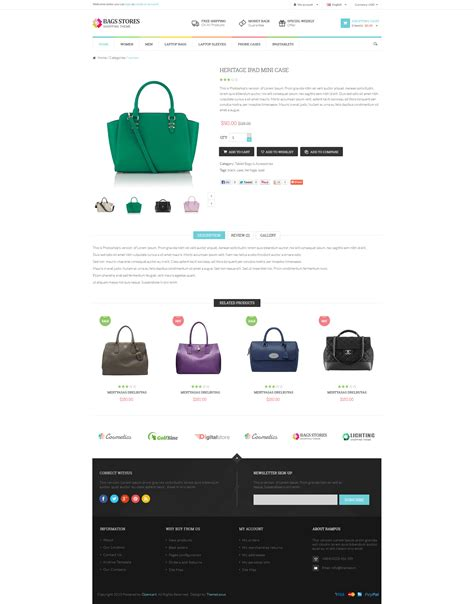 themes zip download bagsstore multiple opencart themes download zip template