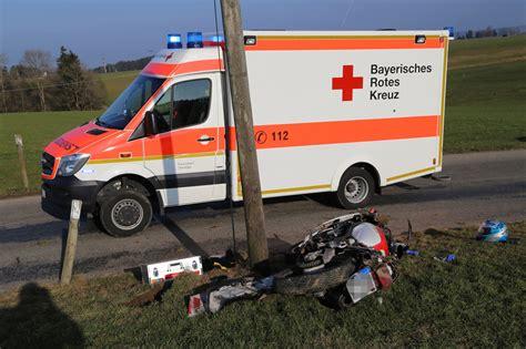 Motorrad Unfälle Deutschland 2015 by Kronburg Schachen 25 J 228 Hriger Motorradfahrer 252 Berschl 228 Gt
