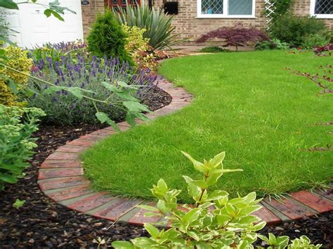 brick edging for flower beds image detail for flower bed edging outdoor ideas